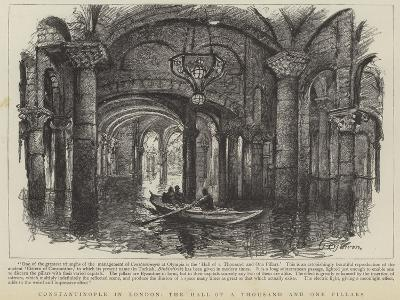 Constantinople in London, the Hall of a Thousand and One Pillars--Giclee Print
