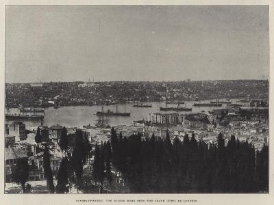 Constantinople, the Golden Horn from the Grand Hotel De Londres--Giclee Print