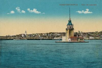 'Constantinople - Tour de Léandre', c1900-Unknown-Framed Giclee Print