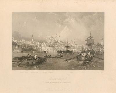 Constantinople-Thomas Allom-Premium Giclee Print