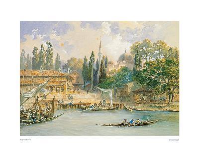 Constantinople-Eugene Flandin-Art Print