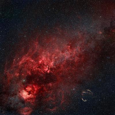 Constellation Cygnus with Multiple Nebulae Visible-Stocktrek Images-Photographic Print