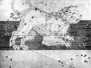 Constellation of Leo, 1723