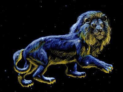 Constellation of Leo, Artwork-Chris Butler-Photographic Print