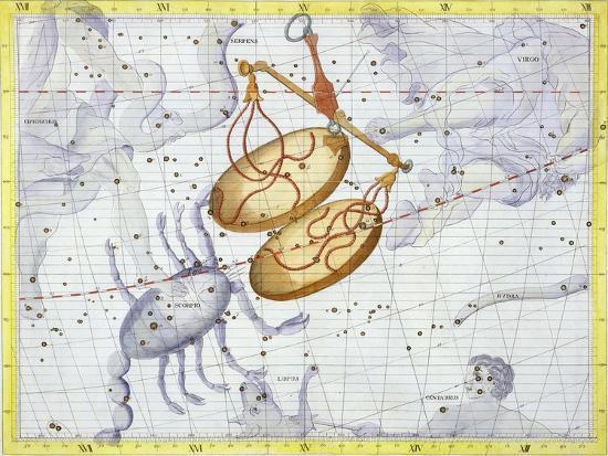 Constellation of Libra, 1729-Unknown-Giclee Print