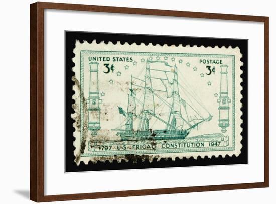 Constitution 1947-LawrenceLong-Framed Art Print