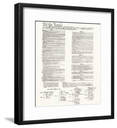 Constitution--Framed Giclee Print