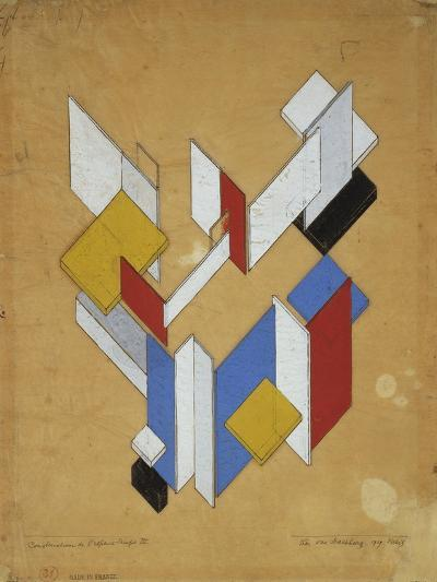 Construction De L'Espace, Temps III, 1929-Theo van Rysselberghe-Giclee Print