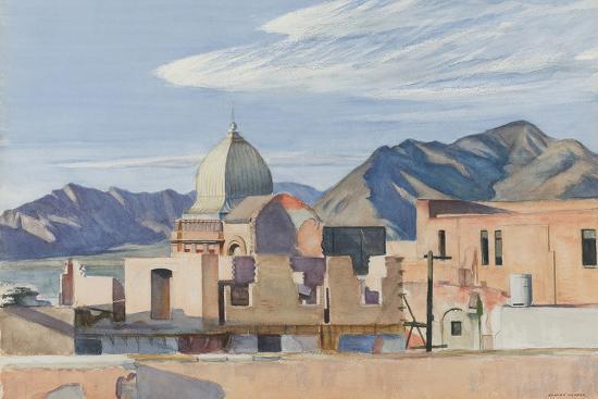 Construction In Mexico, 1946-Edward Hopper-Giclee Print