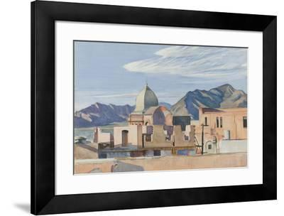Construction In Mexico, 1946-Edward Hopper-Framed Giclee Print