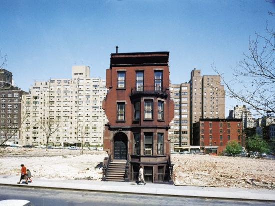 Construction in NYC: Land Being Cleared For 20 Story Building in East 60s  Photographic Print by Dmitri Kessel | Art com