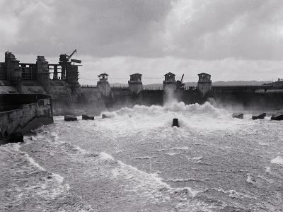 Construction of the Panama Canal--Photographic Print