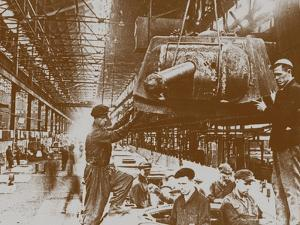 Construction of the T-34 Tanks at the Kirov Factory in Chelyabinsk