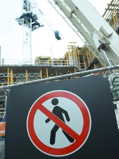 Construction Site--Photographic Print