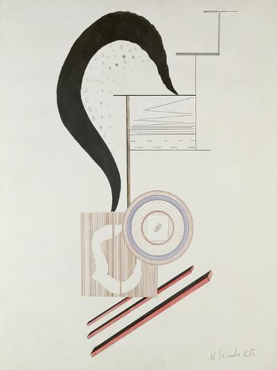 Constructivist Composition, 1925-Mieczyslaw Szczuka-Giclee Print