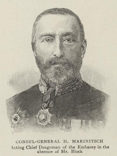 Consul-General H Marinitsch--Giclee Print