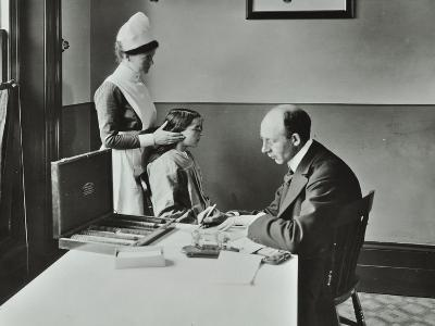 Consulting Room, Norwood School Treatment Centre, London, 1911--Photographic Print