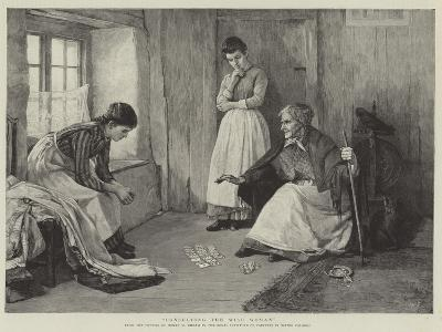 Consulting the Wise Woman-Henry Meynell Rheam-Giclee Print