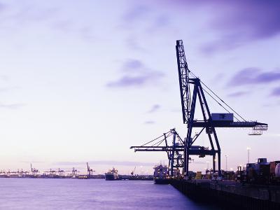 Container Cranes-Carlos Dominguez-Photographic Print