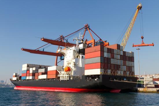 Container Ship-EvrenKalinbacak-Photographic Print