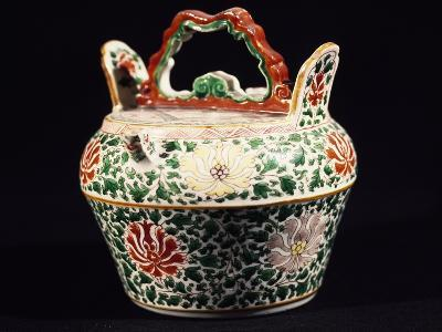 Container with Lid, Porcelain, Ming Period, 14th-17th Century--Giclee Print