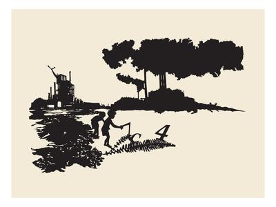 Contamination-Molly Bosley-Giclee Print