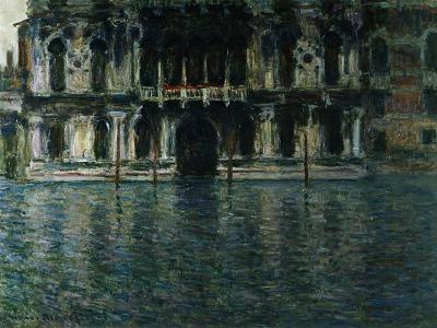 Contarini Palace, Venice-Claude Monet-Giclee Print