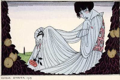 Contemplation ? 1919-Georges Barbier-Giclee Print