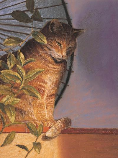 Contemplation-Simon Cook-Giclee Print
