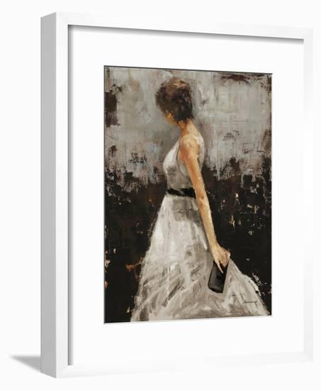Contemplation-Julianne Marcoux-Framed Art Print