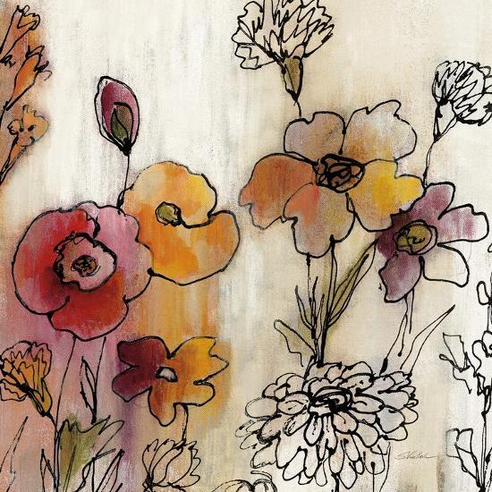 Contemporary Botanical Cream III-Silvia Vassileva-Art Print