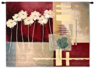 Contemporary Crimson I-Carol Robinson-Wall Tapestry