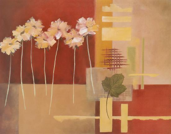 Contemporary Crimson I-Carol Robinson-Art Print