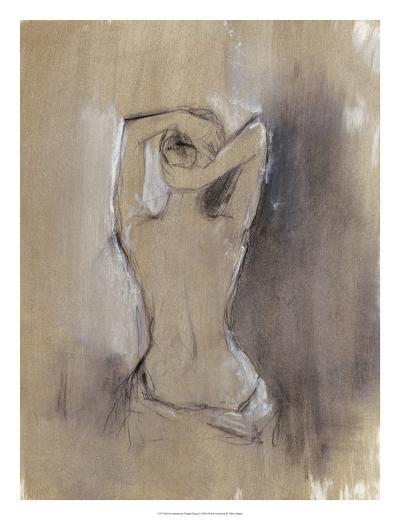 Contemporary Draped Figure I-Ethan Harper-Art Print