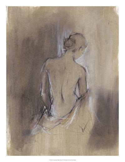 Contemporary Draped Figure II-Ethan Harper-Art Print