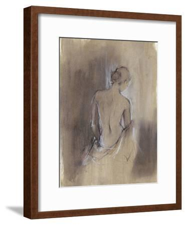 Contemporary Draped Figure II-Ethan Harper-Framed Premium Giclee Print
