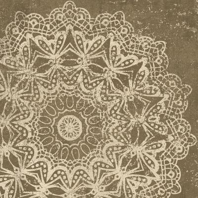 Contemporary Lace II Spice-Moira Hershey-Art Print