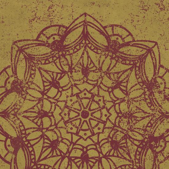 Contemporary Lace IV Spice-Moira Hershey-Art Print
