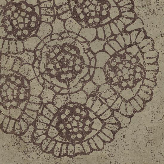 Contemporary Lace V Spice-Moira Hershey-Art Print