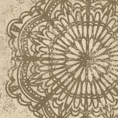 Contemporary Lace VI Spice-Moira Hershey-Art Print