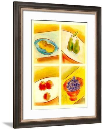 Contemporary Nature I-Lewman Zaid-Framed Art Print