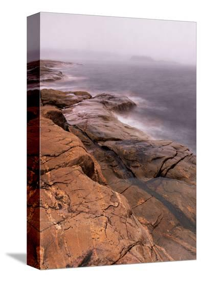 Contemptuous Sea-Derek Jecxz-Stretched Canvas Print