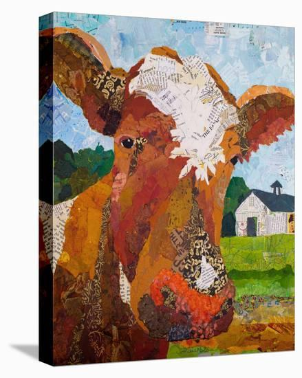 Contented Cattle I--Stretched Canvas Print