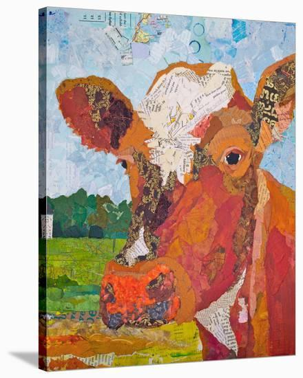 Contented Cattle II--Stretched Canvas Print