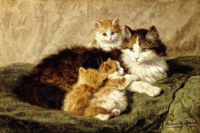 Contentment, 1900-Henriette Ronner-Knip-Giclee Print