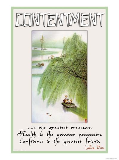 Contentment--Art Print