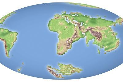 Continental Drift After 100 Million Years-Mikkel Juul-Photographic Print