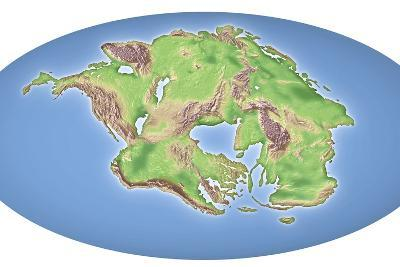 Continental Drift After 250 Million Years-Mikkel Juul-Photographic Print