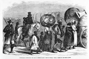 Contrabands Accompanying the Line of Sherman's March Through Georgia, C.1864