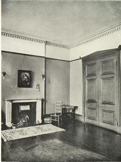 'Contrasted Interiors: Regency - Mecklenburgh Square, Bloomsbury', (1938)-Unknown-Giclee Print